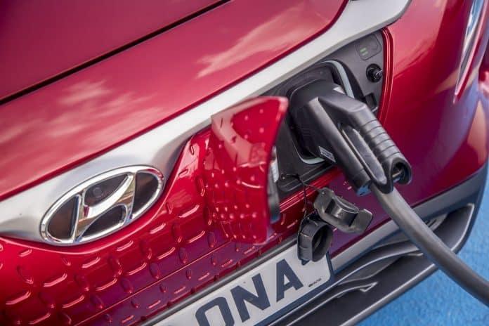 Hyundai Kona Electric plug