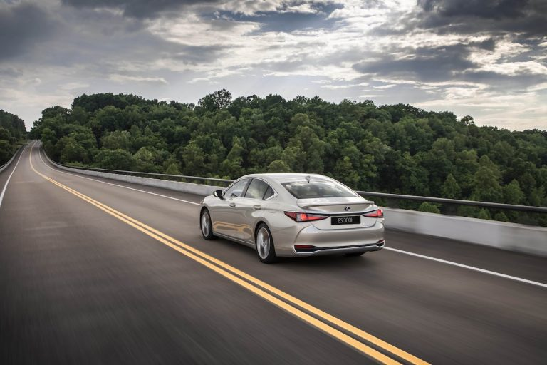 Lexus pushes the boundaries of ride comfort with world-first suspension innovations in the all-new ES saloon