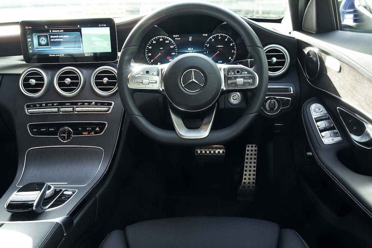 2018 Mercedes-Benz C-Class saloon - dashboard