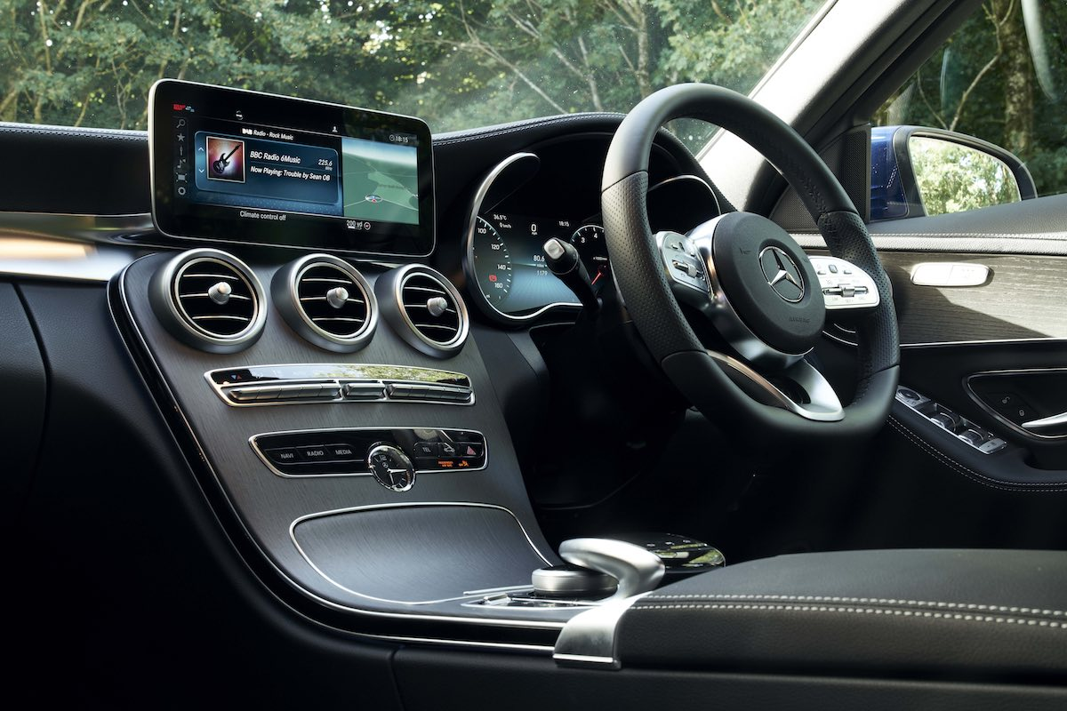2018 Mercedes-Benz C-Class saloon - interior