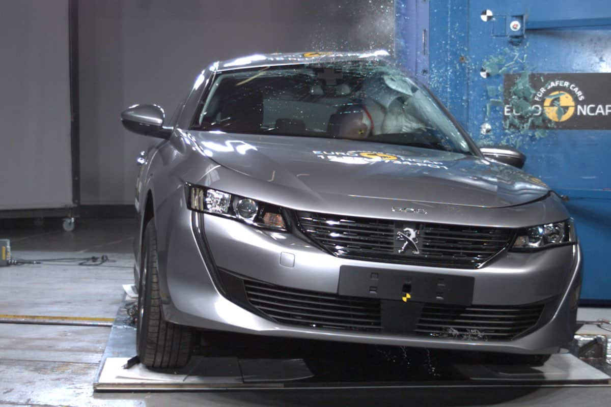 Five stars for the new Peugeot 508