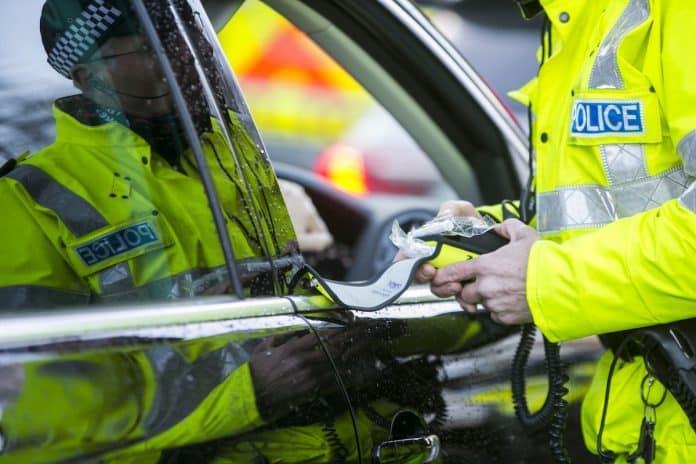 police breath testing unit