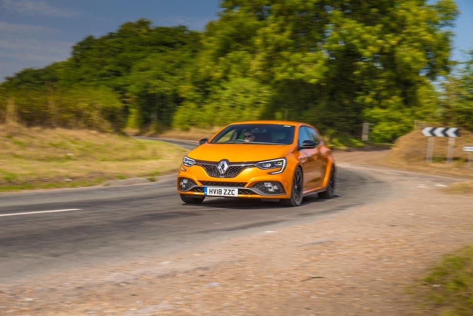 Renault Megane RS on-road - front