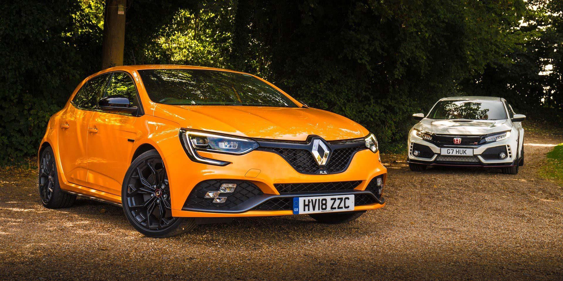Renault Megane RS vs Honda Civic Type R | The Car Expert