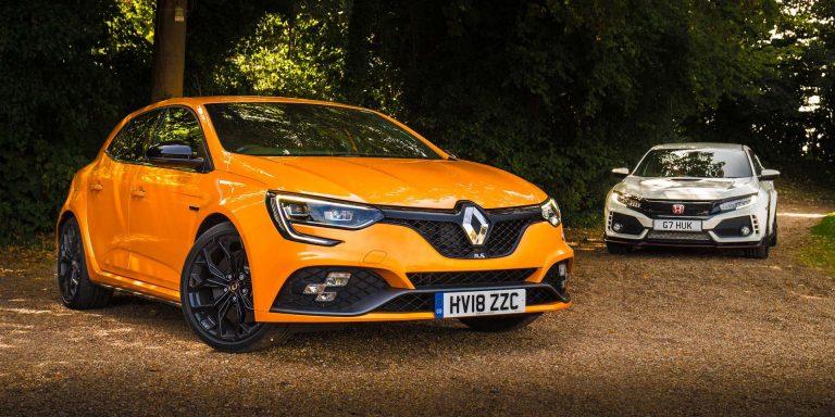 Twin test: Renault Megane RS vs. Honda Civic Type R