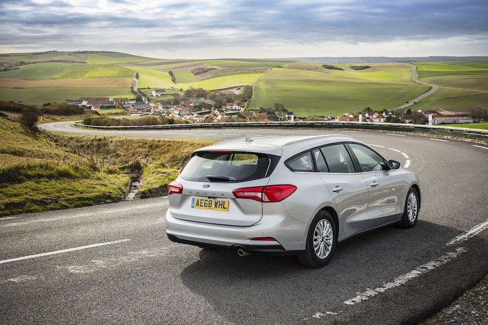2019 Ford Focus Estate review - Titanium rear