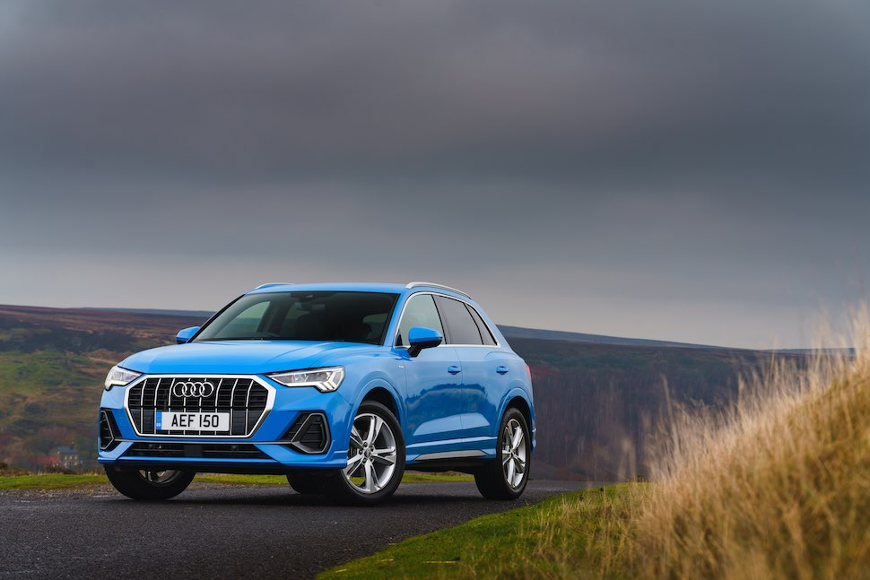 2019 Audi Q3 test drive review - front