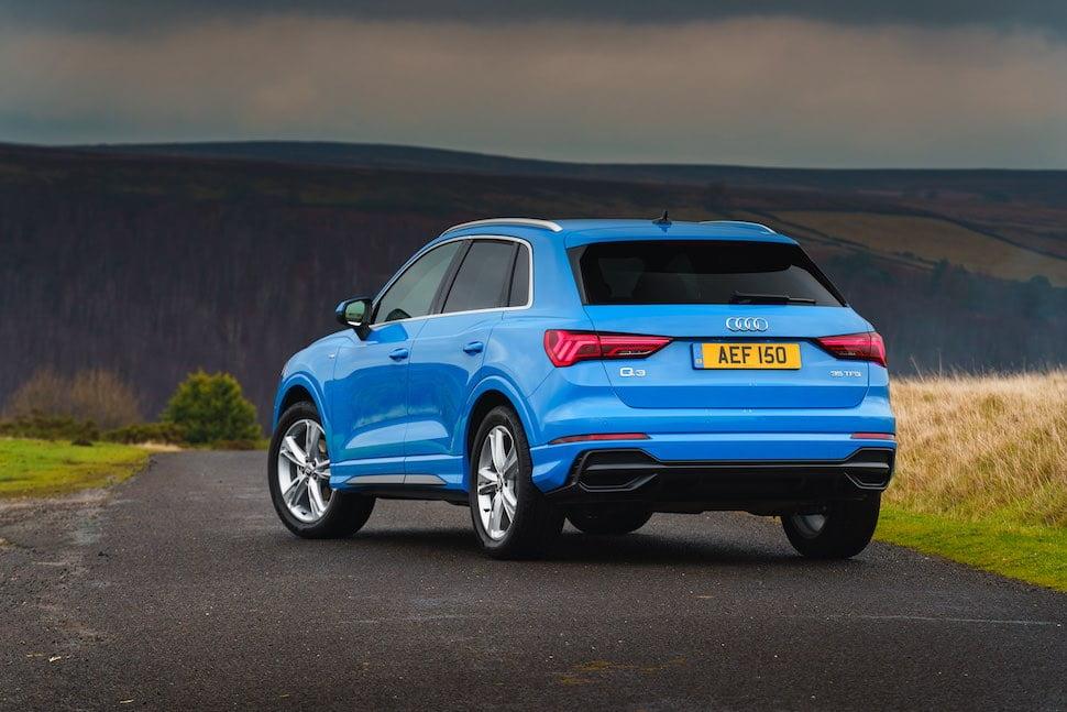 2019 Audi Q3 test drive review - rear