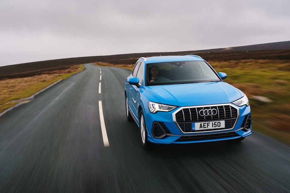 2019 Audi Q3 test drive review - front on-road