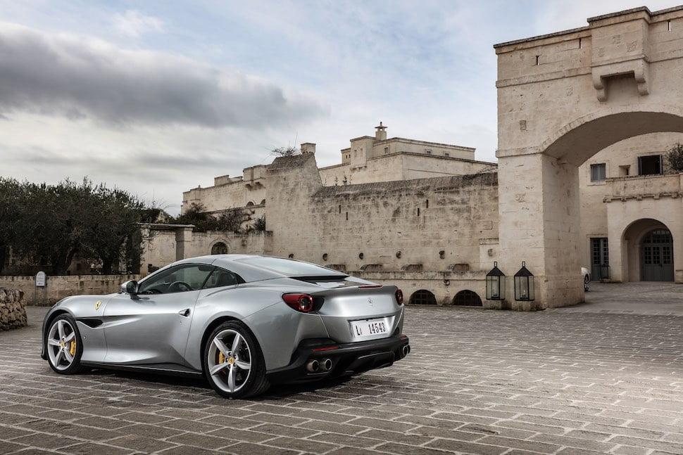 Ferrari Portofino (2018 – 2020) – rear view