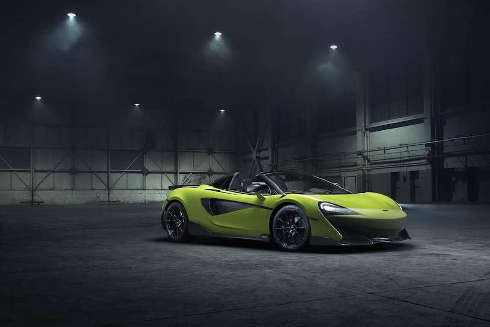McLaren 600LT Spider - front | The Car Expert