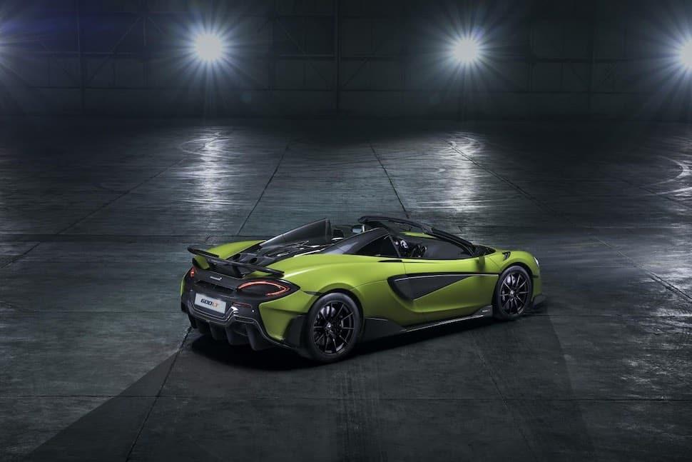 McLaren 600LT Spider - rear | The Car Expert