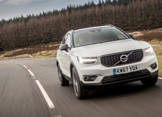 Volvo XC40 (Ten Safest Cars 2019)