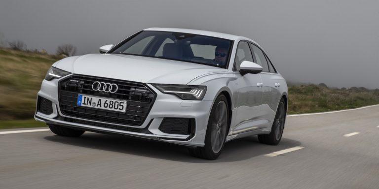 Audi A6 saloon test drive