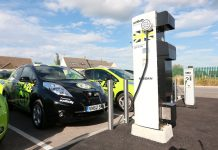 Ecotricity electric vehicle charging point