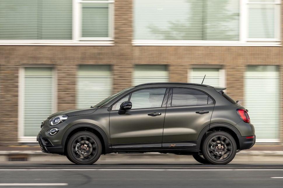 Fiat 500X S-Design - side | The Car Expert