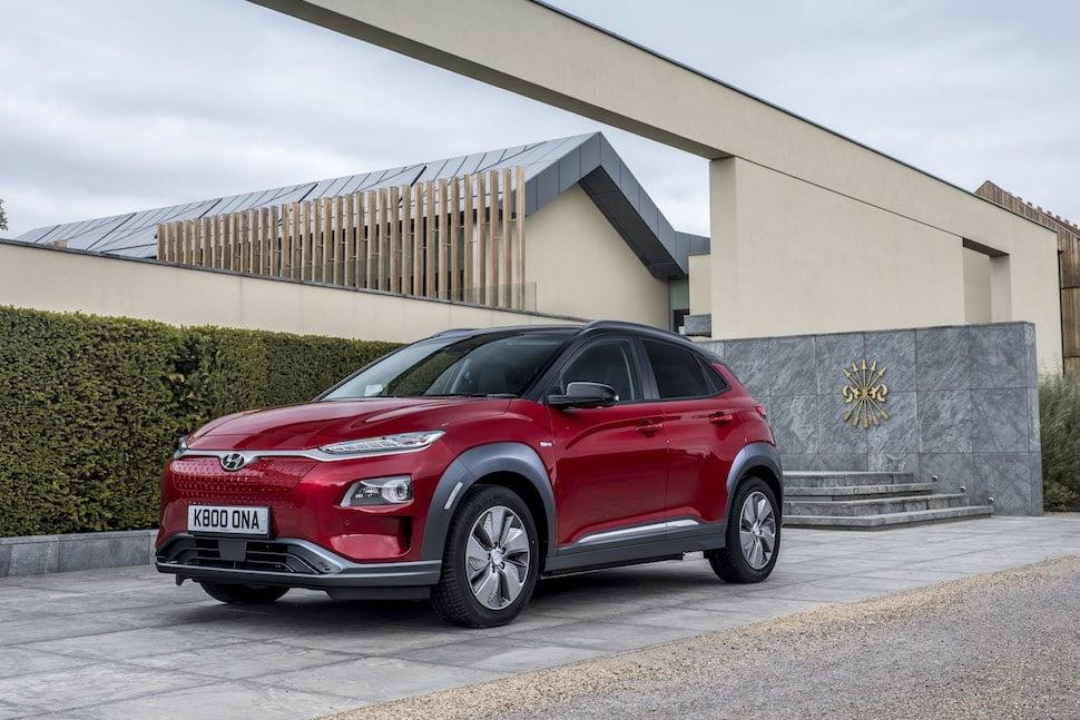 2019 Hyundai Kona Electric test drive - front