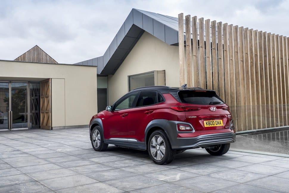 2019 Hyundai Kona Electric test drive - rear