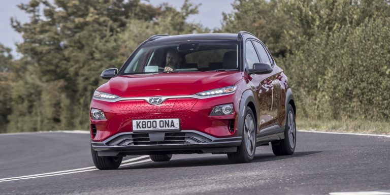 Hyundai Kona Electric test drive