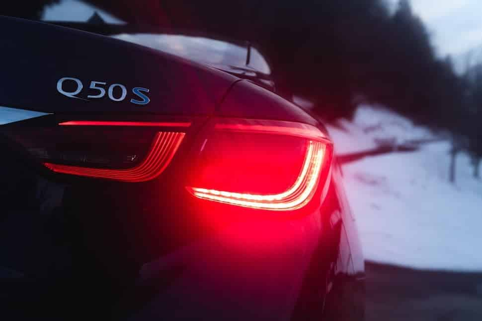 Infiniti Q50S boot badge | The Car Expert
