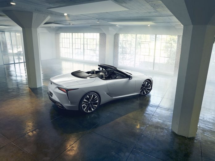 Lexus LC convertible press release featured image