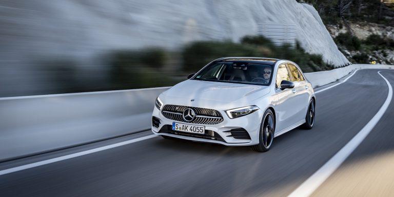 Mercedes-Benz A-Class test drive