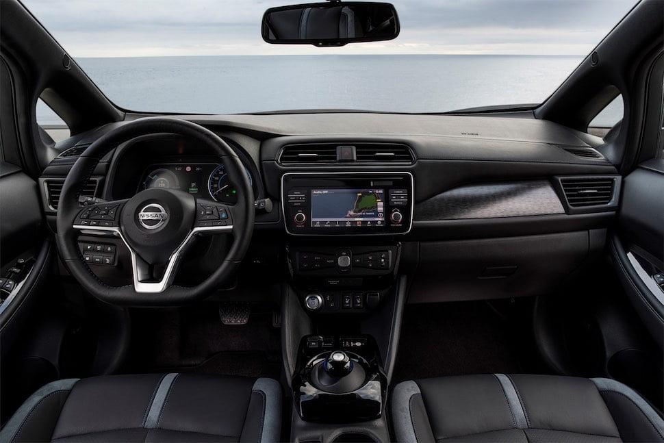 2018 Nissan Leaf dashboard   The Car Expert