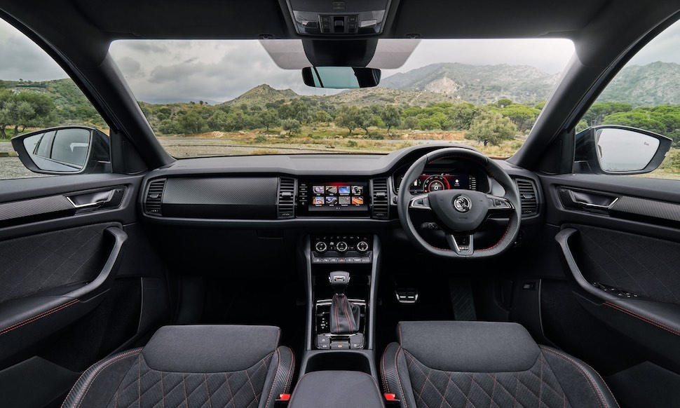 Skoda Kodiaq vRS - interior | The Car Expert