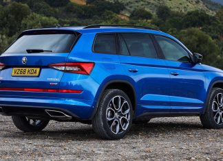 Skoda Kodiaq vRS - rear | The Car Expert