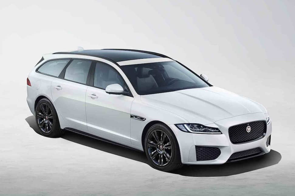 Jaguar XF Sportbrake Chequered Flag | The Car Expert
