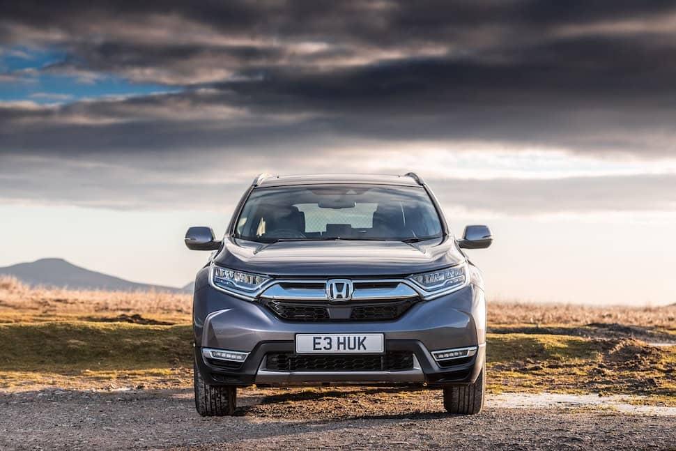 2019 Honda CR-V Hybrid review - front