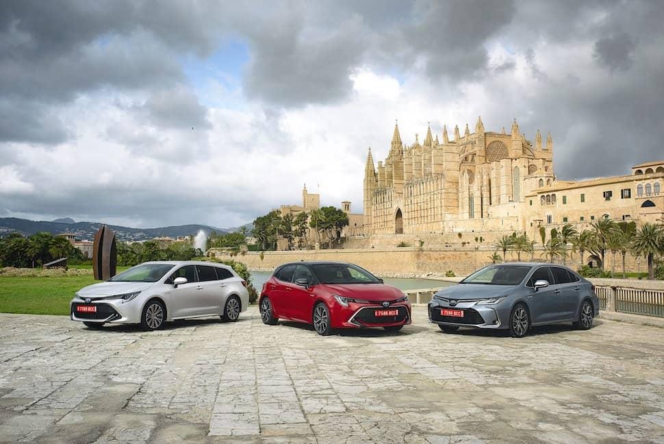 2019 Toyota Corolla family - hatch, Sedan (saloon) and Touring Sport (estate)