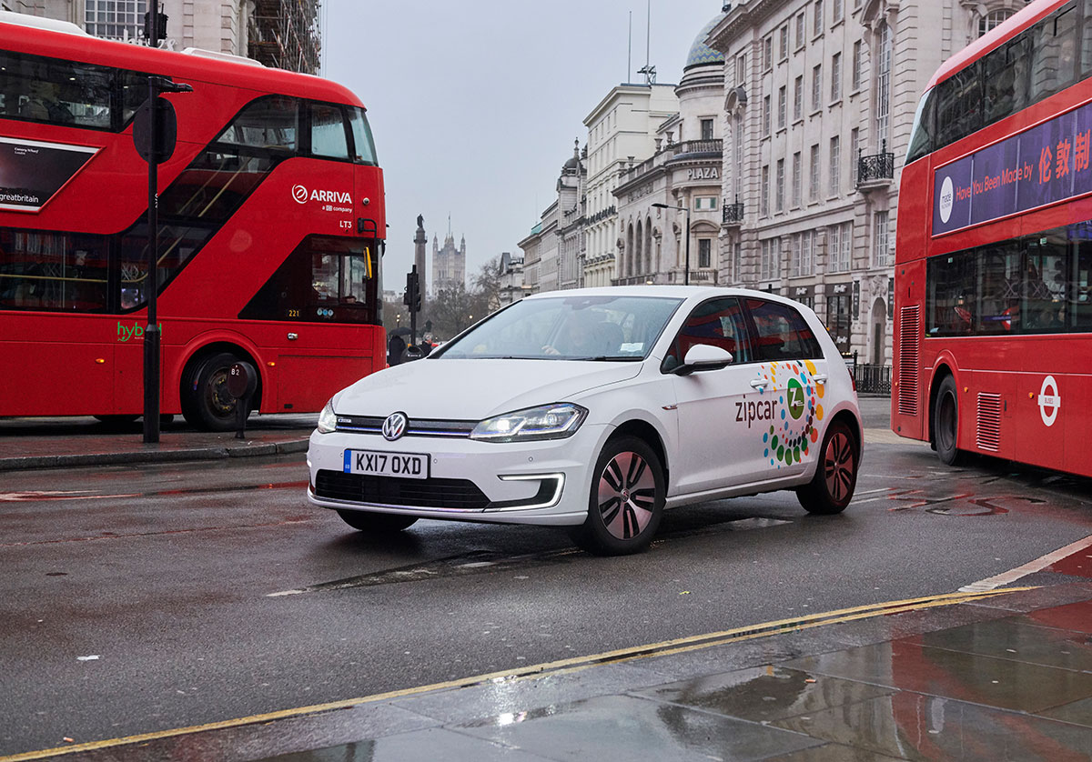 Volkswagen e-Golf in London | The Car Expert