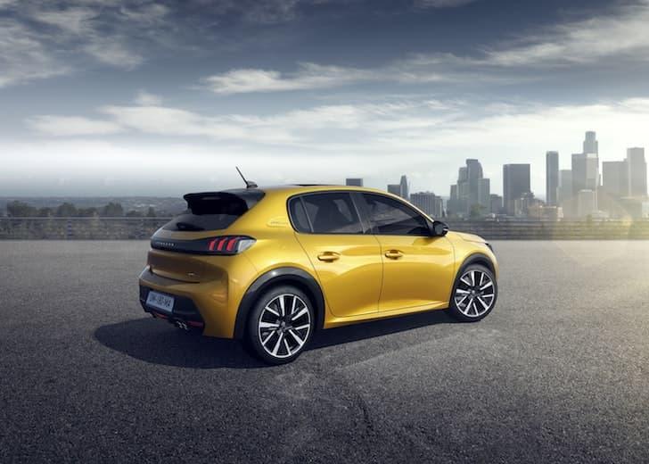 2019 Peugeot 208 rear | The Car Expert