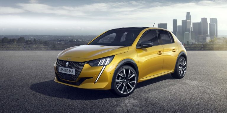 All-new Peugeot 208 revealed with EV option