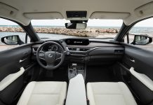 Lexus UX interior (press release)