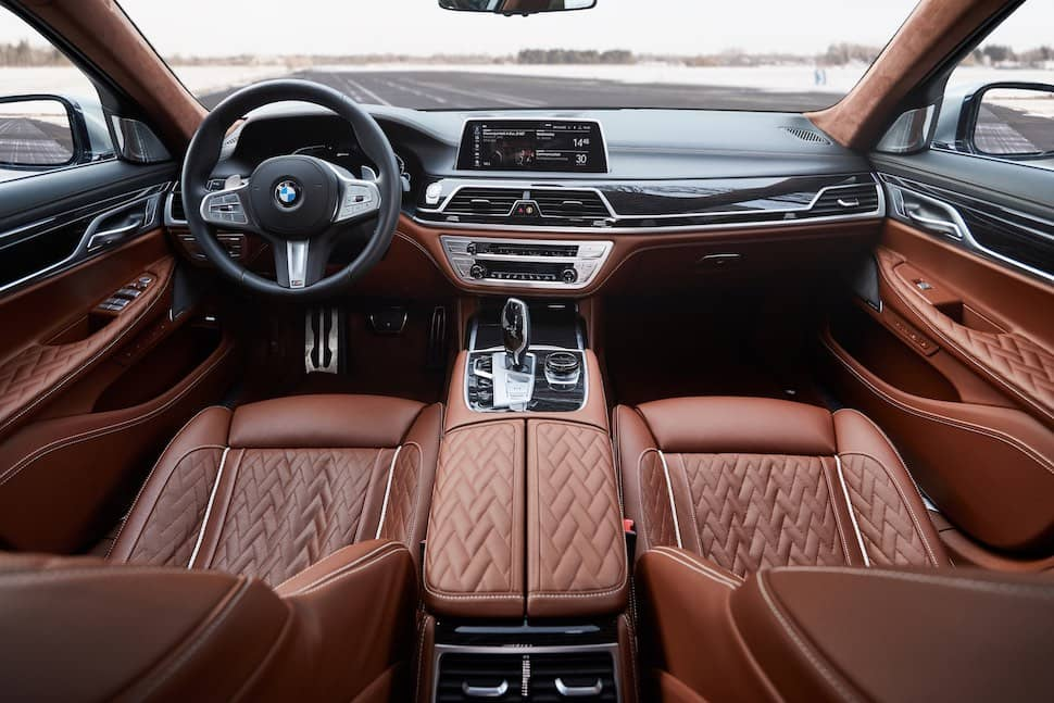 BMW 7 Series 745e interior