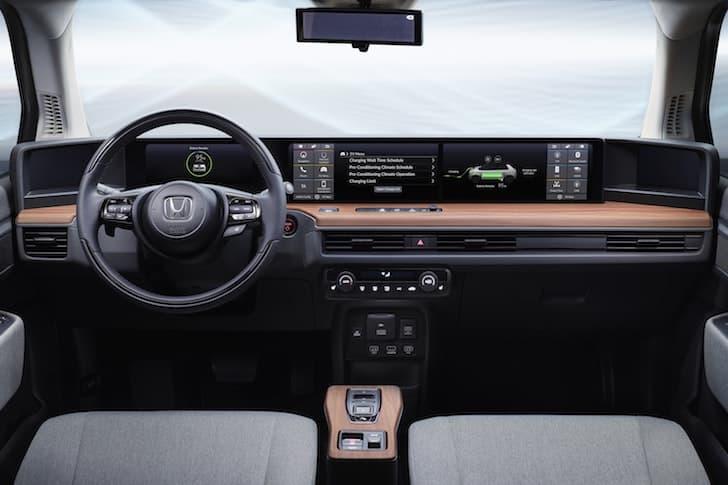 Honda e Prototype dashboard | The Car Expert