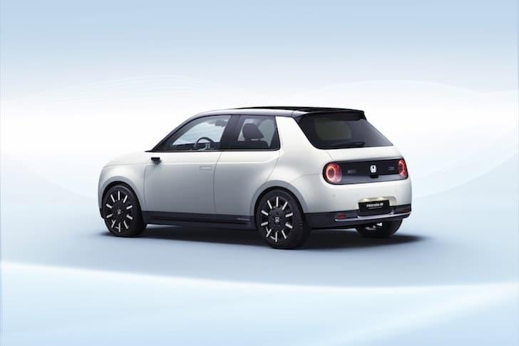 Honda e Prototype rear | The Car Expert