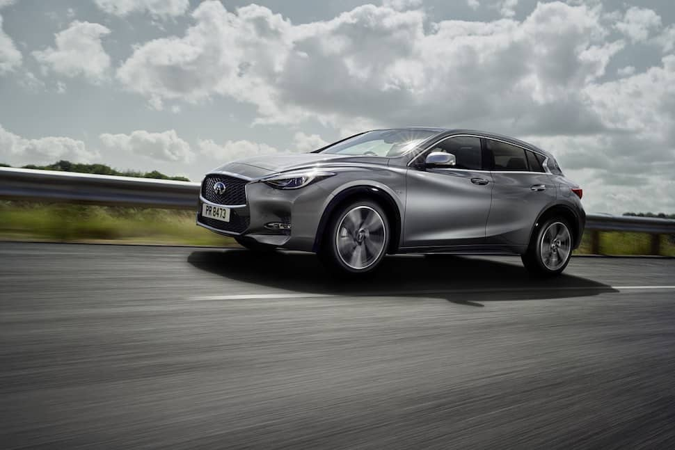 Infiniti Q30 AWD road test 2019 - front | The Car Expert
