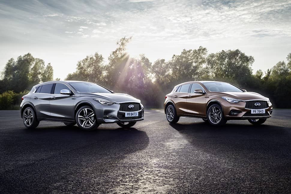 Infiniti Q30 and Q30s AWD - front | The Car Expert