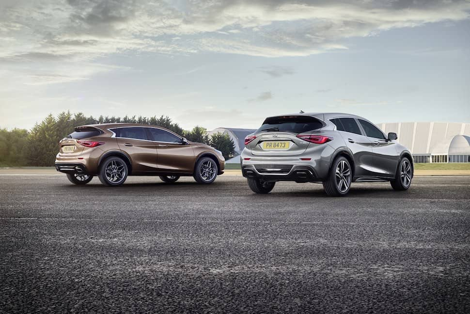 Infiniti Q30 and Q30s AWD - rear | The Car Expert