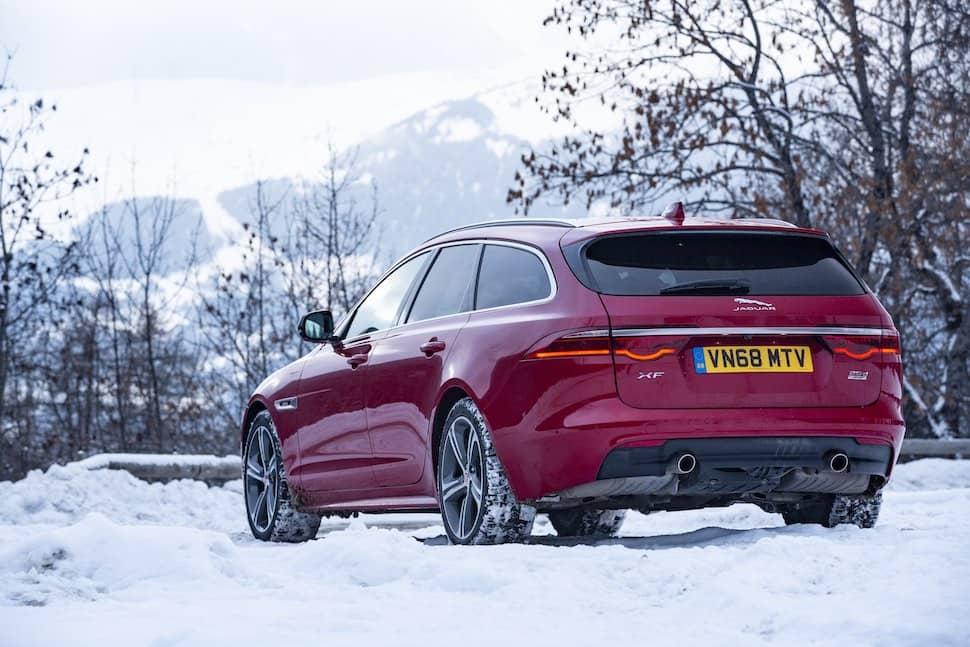 2019 Jaguar XF Sportbrake review - rear | The Car Expert