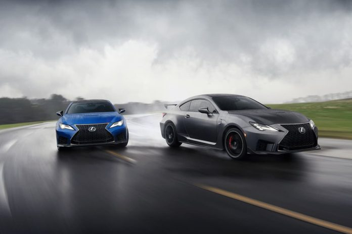 Lexus RC F and RC F Track Edition
