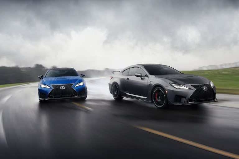 Lexus focuses on greater performance and style for the RC F coupe with exclusive Track Edition