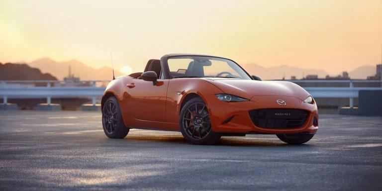Mazda reveals striking MX-5 30th Anniversary Edition