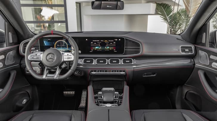 Mercedes-AMG GLE 53 4Matic+ dashboard | The Car Expert