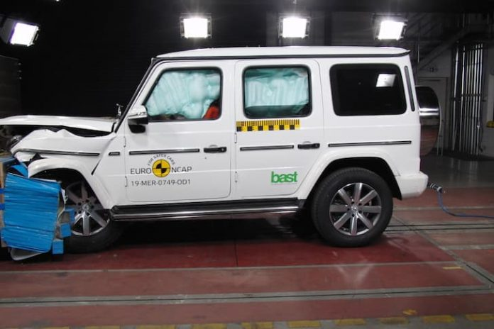 Mercedes-Benz G-Class Euro NCAP crash testing