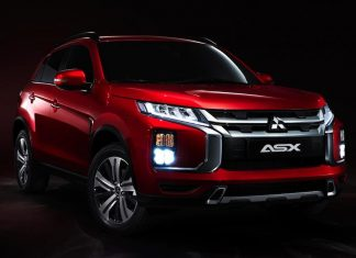 Updated Mitsubishi ASX 1902 - front