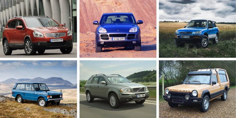 Six SUV pioneers that blazed the trail for today